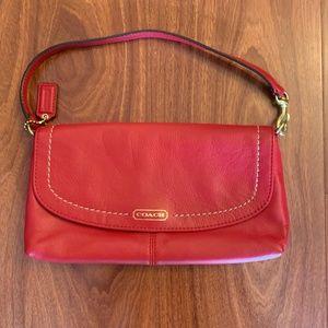 Red Coach Mini Handbag